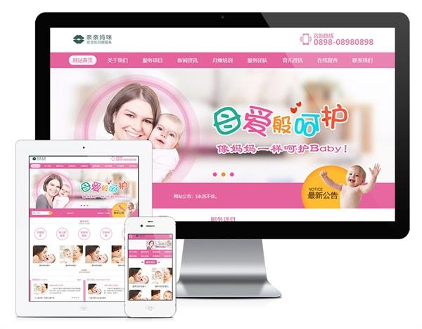 123月嫂保姆家政服务类网站